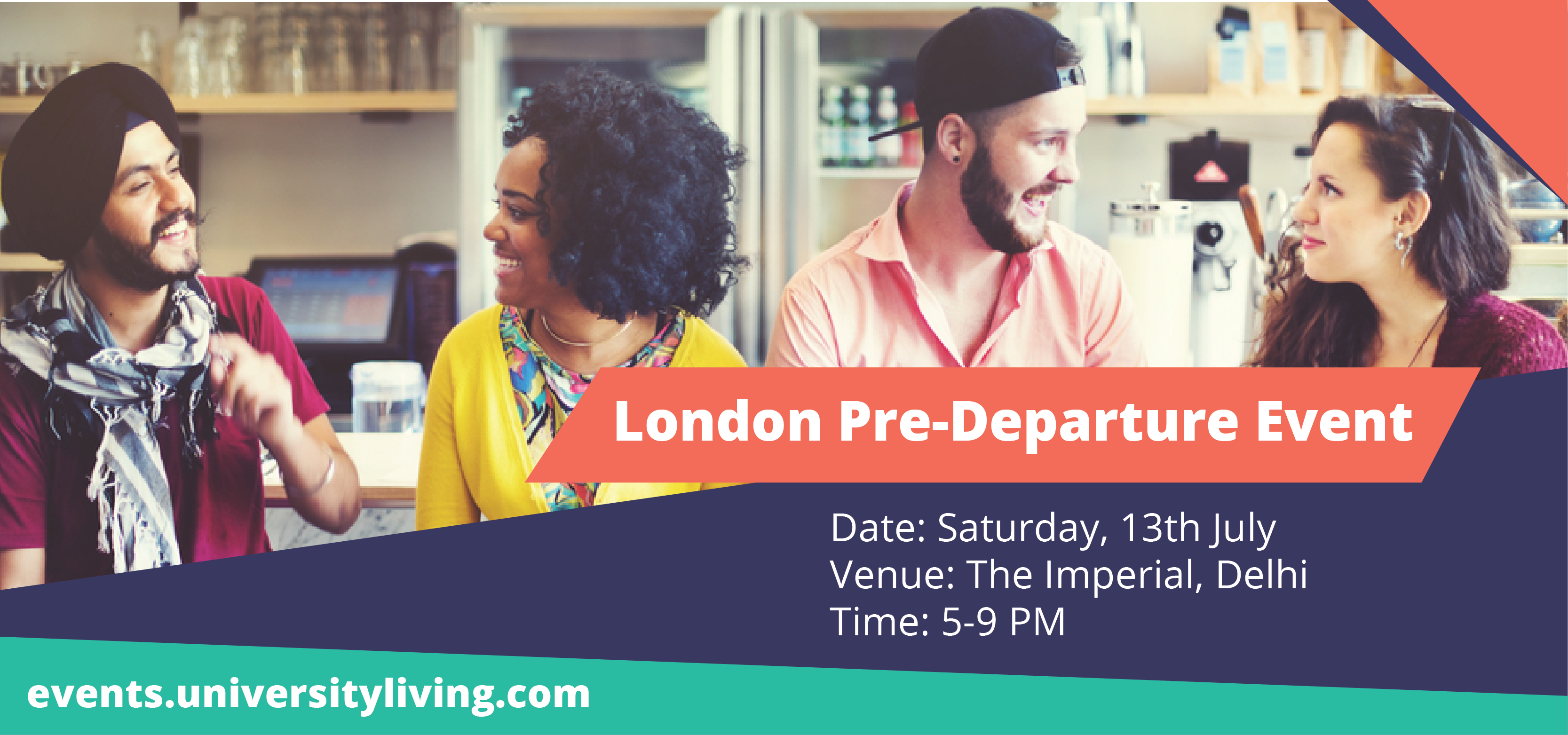 Details of the London Pre-Departure Event